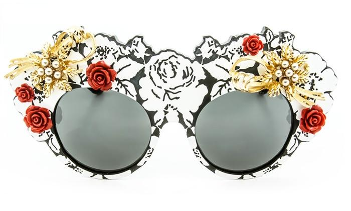 df69b7d6d56 Dolce   Gabbana Mama s Brocade Sunglasses. Dolce   Gabbana Sunglasses