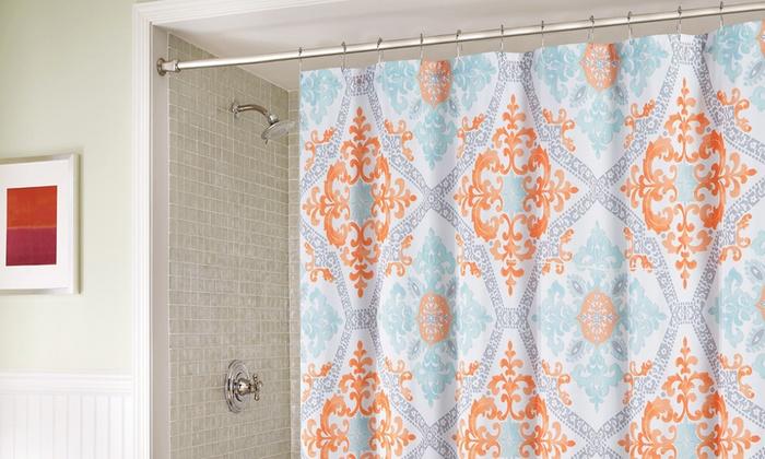 Artistic Linen Shower Curtain   Groupon Goods