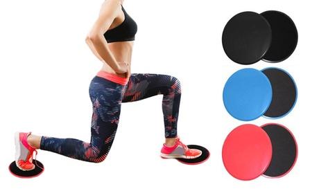 2, 4 o 6 almohadillas deslizantes para ejercicios