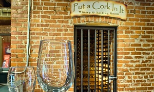 50% Off Wine Tasting at Put A Cork In It at Put A Cork In It, plus 6.0% Cash Back from Ebates.