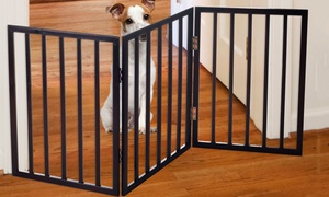 """Paw Easy-Up Free-Standing Folding Pet Gate (54""""x24"""")"""