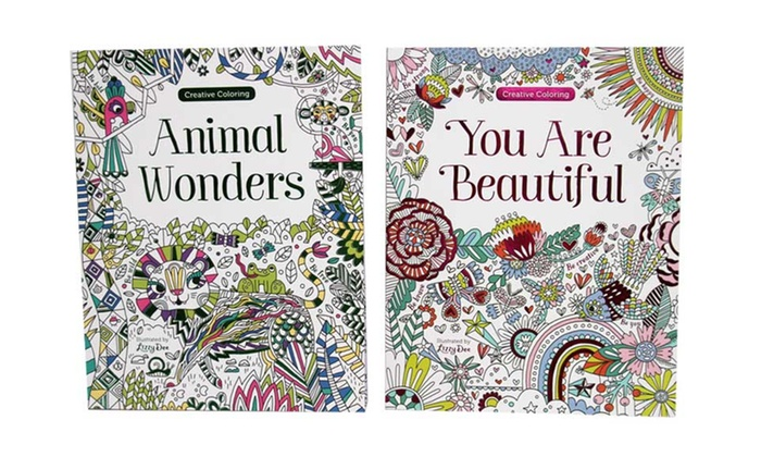 Creative Coloring Animal Wonders And You Are Beautiful Books