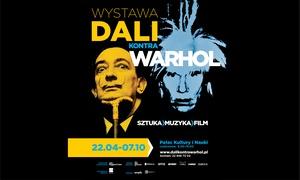 """Wystawa """"Dali kontra Warhol"""": Od 60 zł: bilety na wystawę """"Dali kontra Warhol"""" w Pałacu Kultury i Nauki (do -38%)"""