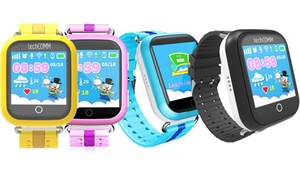 TechComm Kids' Touch Screen Fitness Smartwatch for T-Mobile ONLY