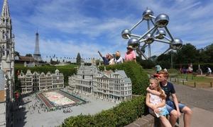 Mini-Europe 2018 : Entrée pour un ou deux adultes ou enfants dès 8 € au parc Mini-Europe
