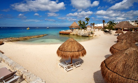 groupon daily deal - ✈ All-Inclusive Park Royal Cozumel Stay with Airfare. Price/Person Based on Double Occupancy. Includes Taxes & Fees