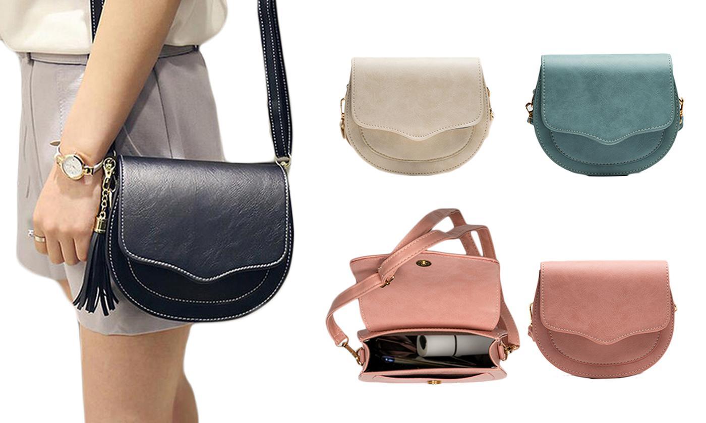 Crossbody Saddle Handbag