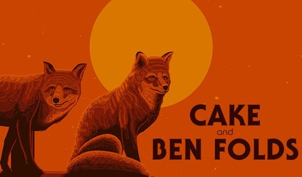 Cake and Ben Folds with Tall Heights on September 8 at 7 p.m.