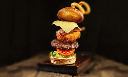 image for Burger with Beer or Wine for Two or Four at The Five Bells