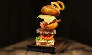 The Five Bells: Burger with Beer or Wine for Two or Four at The Five Bells