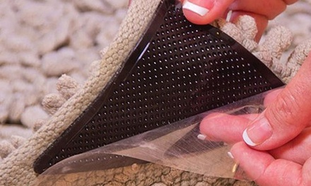 4er-Set rutschfeste Silikon-Teppichgreifer (Sie sparen: 83%)