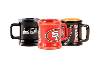 NFL Mini-Mug Shot Glasses (2-Pack)
