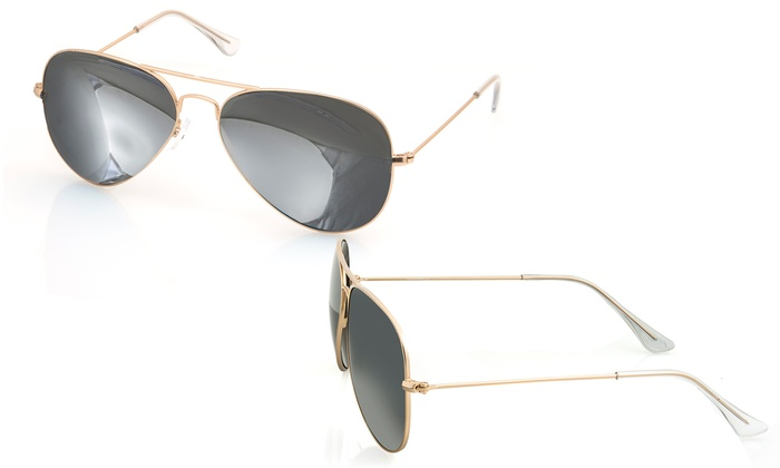 Aqs James Sunglasses Review  aqs james uni mirrored aviator sunglasses groupon