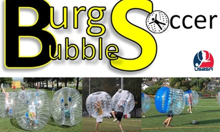 $209 for $400 Worth of Bubble Soccer at Burgh Bubble Soccer