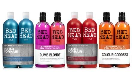 TIGI Bed Head Shampoo and Conditioner Set 750ml for £13.49 (55% Off)