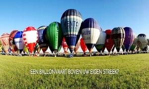 Ballonvaarten Dirk Lyssens: Vol et après-ballooning avec champagne pour 1, 2 ou 10 personnes dès 99 €
