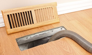Roto Scrub Duct Clean: Air Duct and Dryer Vent Cleaning Package, or Chimney Cleaning from Roto Scrub Duct Clean (Up to 90% Off)