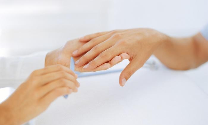 Serine Salon & Spa - Ottawa: Manicure with an Optional Pedicure at Serine Salon & Spa (Up to 44% Off)