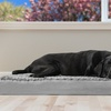 Plush Pet Bed with Cooling Gel Top