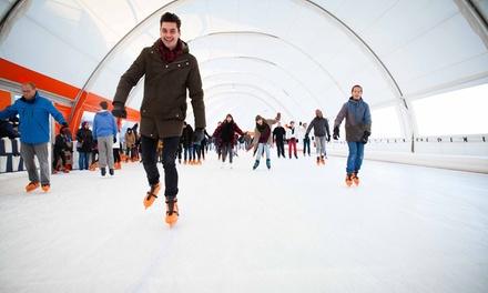 Dagje schaatsen voor 14 personen bij Schaatsbaan Rotterdam in De Esch