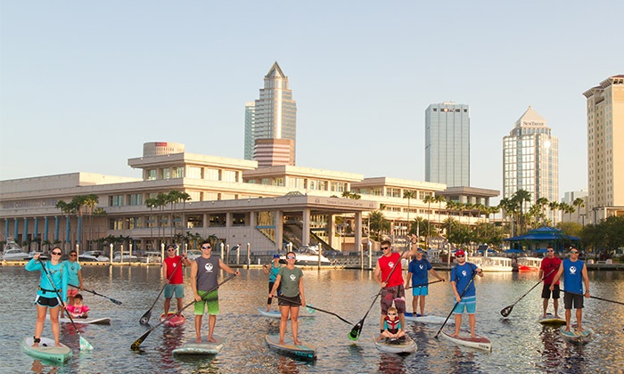 Urban Kai - Tampa: 60-Minute Paddleboard Rental for One or Two at Urban Kai (Up to 50% Off)