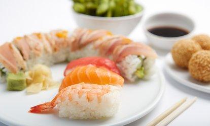 All-You-Can-Eat <strong>Sushi</strong> and Asian-Food Buffet for Two or Four at Asian Top Restaurant (52% Off)