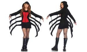 Women's Cozy Black Widow Costume