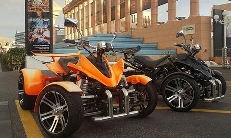 Alquiler de 1 o 2 quads para hasta 4 personas para ruta de 1 hora desde 44,90 € en Canary Quad
