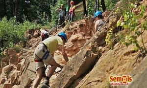 Semois Aventure: Stand de tirs, tyrolienne, escalade, randonnée... 1, 2 ou 4 pass Découverte de 3h à 14,99 € au parc Semois Aventure