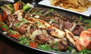Mythos Restauracja Grecka: Kulinarna podróż po Grecji: uczta dla 2 osób od 99,99 zł w Mythos Restauracji Greckiej (do -35%)