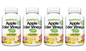 PureGenix Apple Cider Vinegar (1- or 4-Pack)