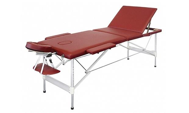 Table De Massage En Bois Ou Alu  Groupon-9392