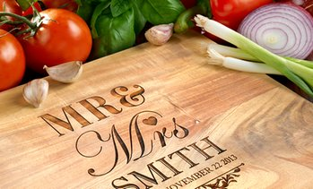 Personalised Wood Chopping Board