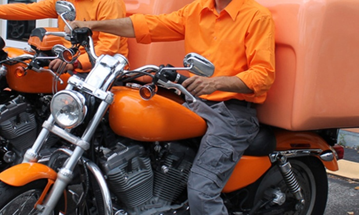 Forward Motorcycle Express Courier Services - Fort Lauderdale: MotorcycleDelivery Services from Forward Motorcycle Express Courier Services (Up to 57% Off). Two Options Available.