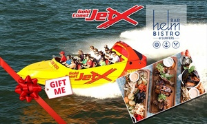 Gold Coast Jet X: Jet Boat Ride for a Child ($39), Adult ($55), Plus Lunch Upgrades at Gold Coast Jet X (From $45 Value)