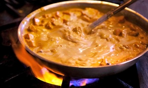 Aab India: Indian Food at Aab India (Up to 30% Off). Two Options Available.