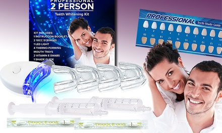 TrueSmiles Two-Person Teeth Whitening System