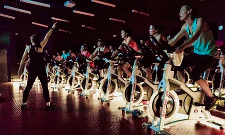 Three Cycling Classes with Optional Drink at Off The Chain Cycling Studio (Up to 51% Off)