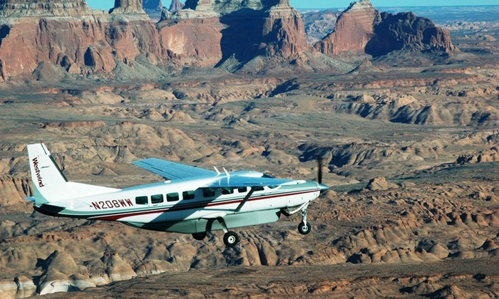 Westwind Air Service - Westwind Air Service: Aerial Valley of the Sun Tour or Grand Canyon Tour from Westwind Air Service (Up to 6% Off)