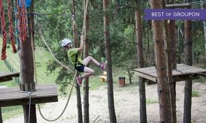 Park Jeroniki: Zabawa na wysokości: przejście trasy średniej dla 2 osób za 39,99 zł i więcej opcji w Parku Jeroniki (do -33%)