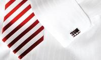 1x oder 2x maßgeschneidertes Hemd mit Krawatten-Set im Atelier für Maßmode (50% sparen*)