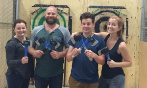 50% Off Axe Throwing at Jack Axe at Jack Axe, plus 6.0% Cash Back from Ebates.