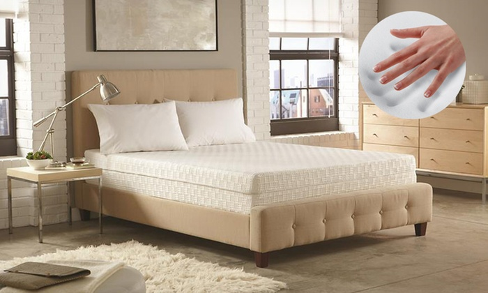 """10"""" Memory Foam Mattress with Air-Flow Technology: 10"""" Memory Foam Mattress with Air-Flow Technology & 5-Year Limited Manufacturer Warranty (Up to 75% Off). Free Shipping."""