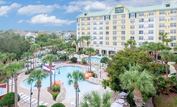 The Inn At Calypso Cay Hotel Orlando Kissimmee Fl Stay