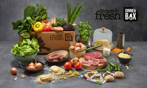 Aussie Farmers Direct: Aussie Farmers Direct: from $49.50 for a Simple & Fresh Dinner Box with Four Meals (Up to $149 Value)