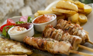 sababa mediterranean cuisine: Mediterranean Food for Lunch or Dinner at Sababa Mediterranean Cuisine (Up to 42% Off). Five Options Available.