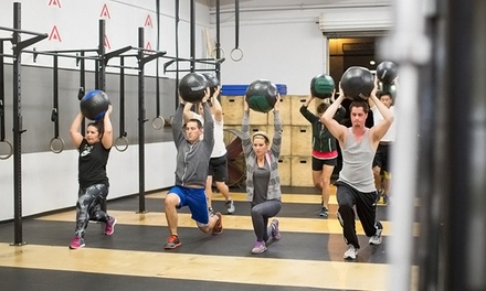 $29 for One Month of Unlimited Classes at CrossFit Active Performance (Up to $205.50 Value)
