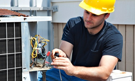 Maintenance on Central Heating and Cooling Systems or Six Household Appliances from V-Force Repairs (50% Off) photo