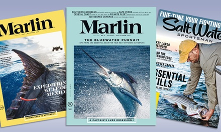 One-Year Subscription to Salt Water Sportsman or Marlin from Blue Dolphin Magazines (50% Off)