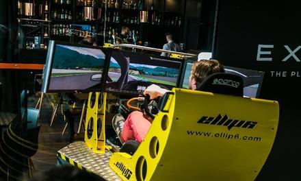 2 ou 4 sessions en simulateur de course automobile de 10 minutes en semaine ou le weekend dès 14,99 € chez Exype